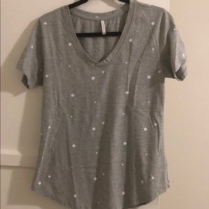 Grey Z Supply Tshirt With Star Detail